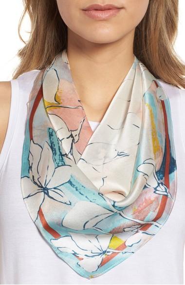 HalogenPrintSilkScarf